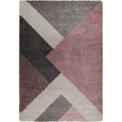 Dakari Zula Geometric Rug Pink