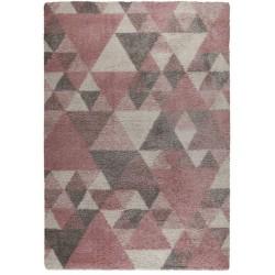 Dakari Nuru Geometric Rug - Pink/Cream