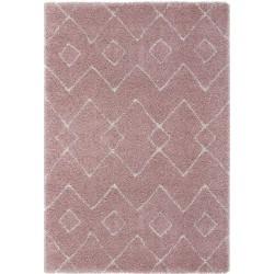 Dakari Imari Geometric Rug - Pink & Cream