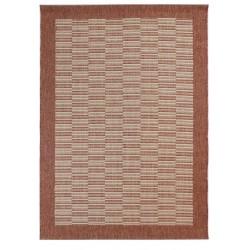 Kyrta Flat Weave Rug - Rust
