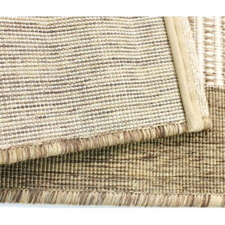 Kyrta Flat Weave Rug - Natural Backing Detail