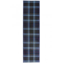 Stirling Tartan Check  Runner - Blue