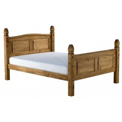 Welton High-End Bed, angle view