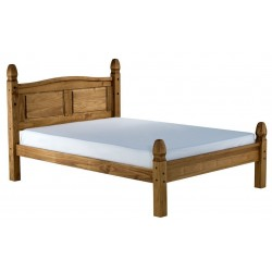 Welton Low End Bed, angle view