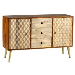 Cherla Large Sideboard, side view