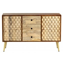 Cherla Large Sideboard, front view