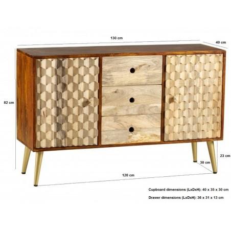 Cherla Large Sideboard, dimensions