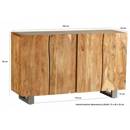 Reims Large Sideboard, dimensions