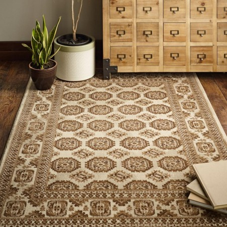 Rohan Pattern Rug, natural - room setting
