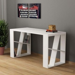 An image of Miel Home Office Desk White