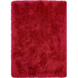 Callington  Plain Shaggy Rug - Red