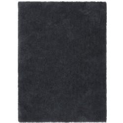 Cudillero Plain Shaggy Rug - Charcoal