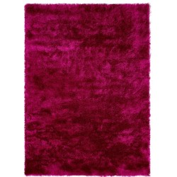 Rothes Glamour Shaggy Rug - Hot Pink