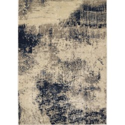 Havanna Blue/Grey Abstract Rug