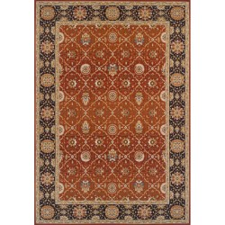 Accra Vintage Rug - Red