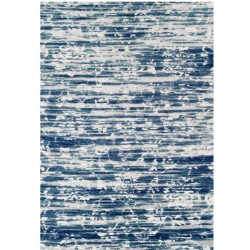Faina Textured Rug - Blue