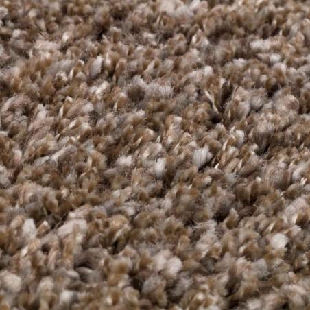 Quito Plain Rug - Beige Pile Detail