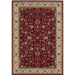 Sumy Bordered Rug - Red