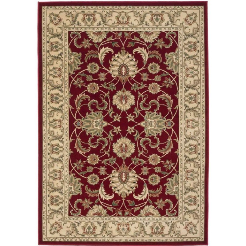 Sumy Patterned Rug - Red