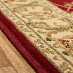 Sumy Patterned Rug - Red Edge Detail