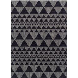 Kerch Prism Rug - Black