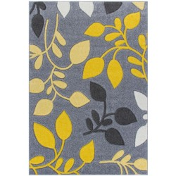 Royan Floral Rug - Yellow