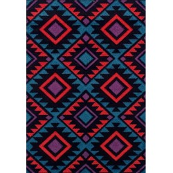 Royan Traditional Rug Red /Black