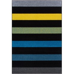 Royan Alternate Rug Black Stripes
