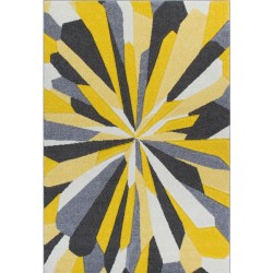 Royan Eruption Rug - Yellow