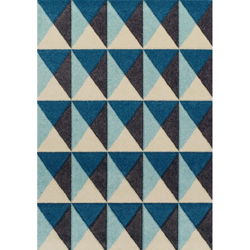 Royan Pyramid Rug - Blue