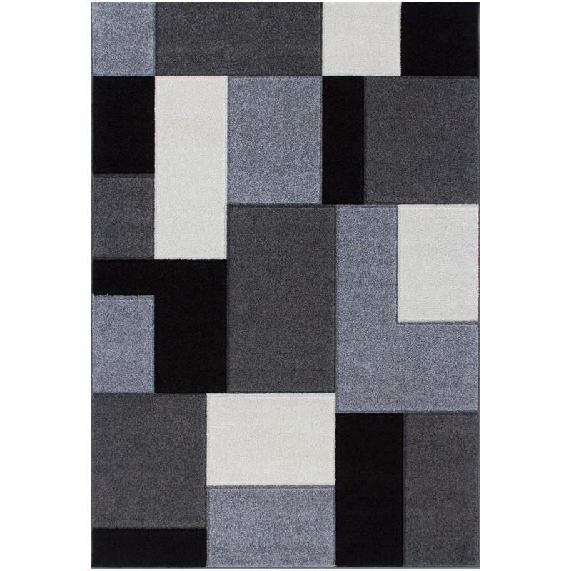 Royan Shaped Rug - Grey