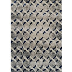 Lubin Twisted Patterned Rug