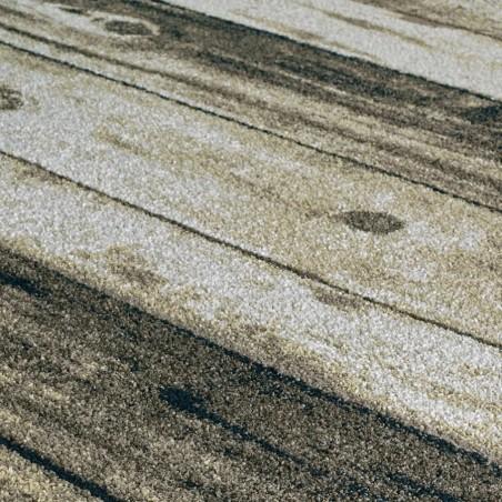 Kastro Wooden Patterned Rug Pattern Detail