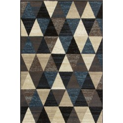 Berat Triangular Patterned Rug