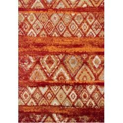 Berat Tribal Rug - Red