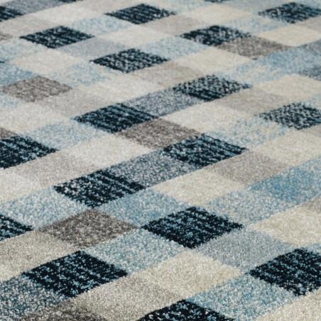 Berat Square Patterned Rug Pattern Detail