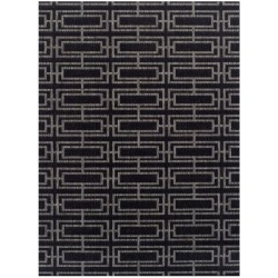 Kerch Deco Rug - Black