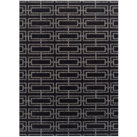 Kerch Deco Rug - Black