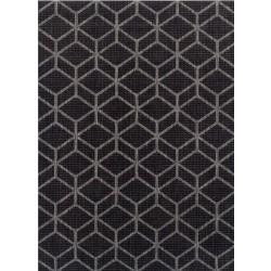 Kerch Cube Rug - Black