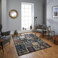 Kepno 2061 K Abstract Rug Room shot