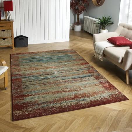 Kepno 3070X Abstract Stripe Rug Room Shot