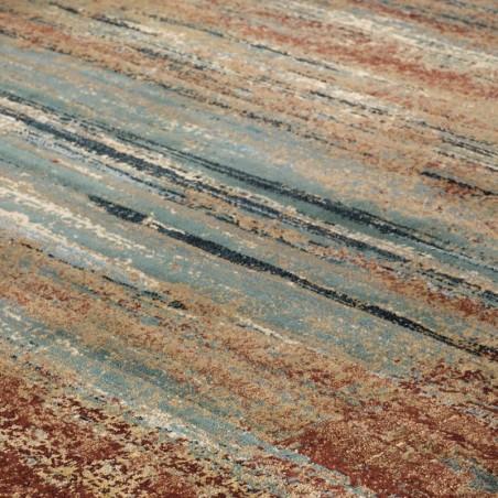 Kepno 3070X Abstract Stripe Rug pattern Detail