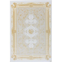 Alsfeld Traditional Pattern Rug - Beige & Gold