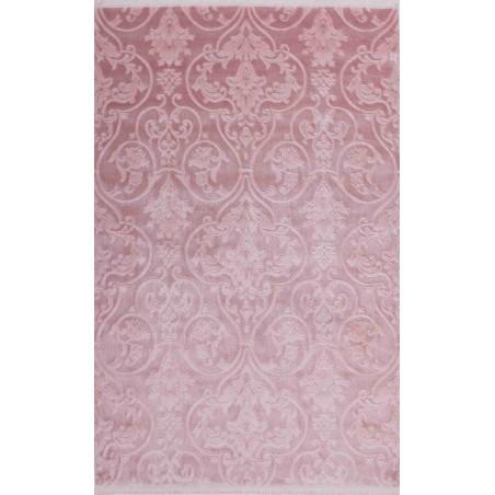 Stiege Modern Plain Rug Pink