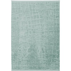 Peine Modern Style Plain Rug Turquoise