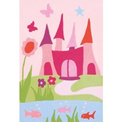 Pata Princess Castle Rug