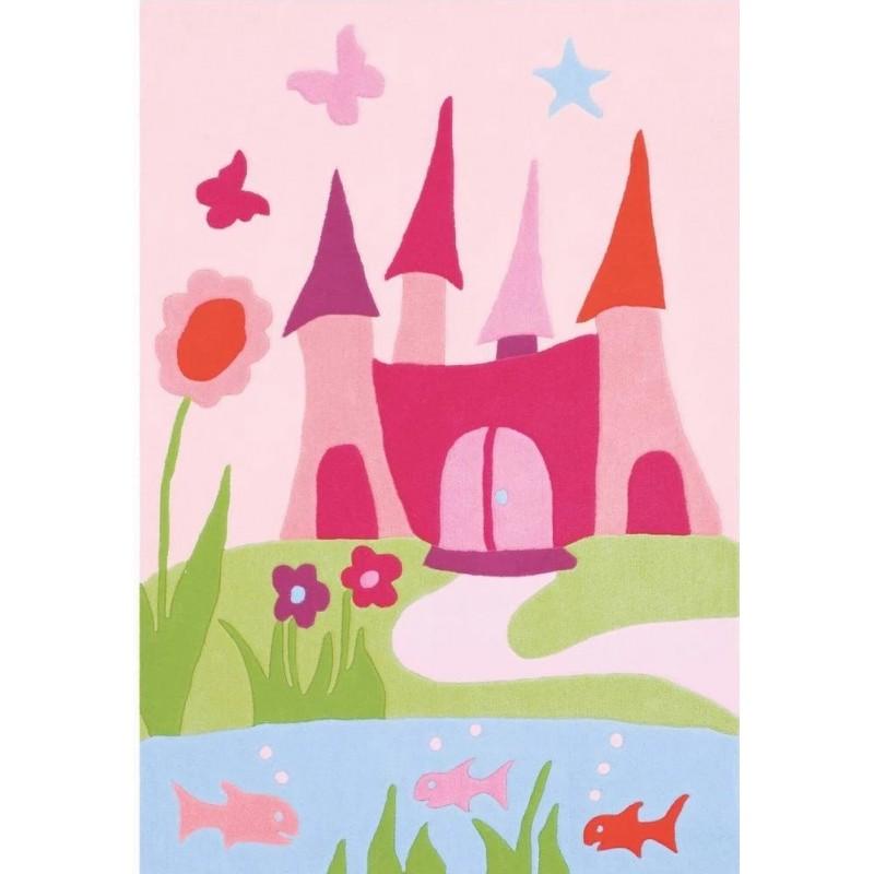 Pata Princess Castle Rug