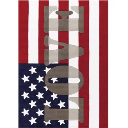 Pata American Love Rug