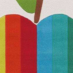 Pata Multi Apple Rug Pattern detail