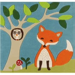 Pata Children's Fox Rug